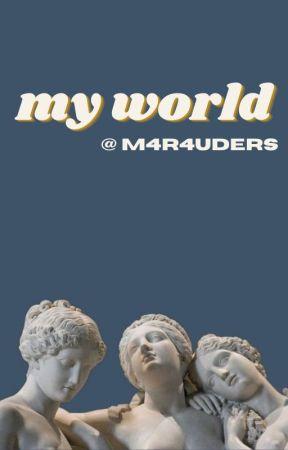 my world ; george weasley by m4r4uders