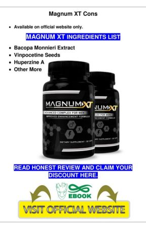magnum xt  : capsules , price , reviews and its ingredients by officialmagnumxt