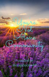 You're Not Alone Community cover