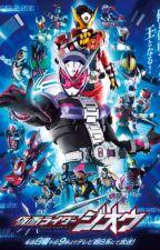 RWBY x Kamen riderverse: Team RLZE by kait0hiir0
