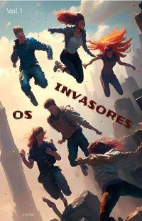 CAMPEÕES SEIS - OS INVASORES. cover