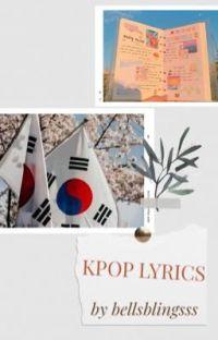 Kpop Lyrics🌈 cover