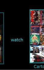 RWBY and Co. Watch Godzilla by GodzillaFan15