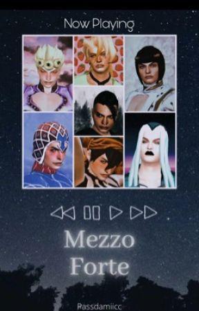 Mezzo Forte || Vento Aureo by Passdamiicc