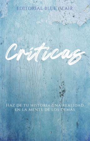 Críticas Editorial Blue Clair by EditorialBlueClair