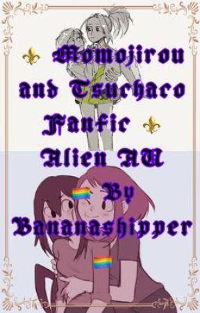 Momojirou and Tsuchaco fanfic (Alien AU) by Bananashipper