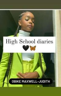 High School diaries 🖤🦋 ✔ cover