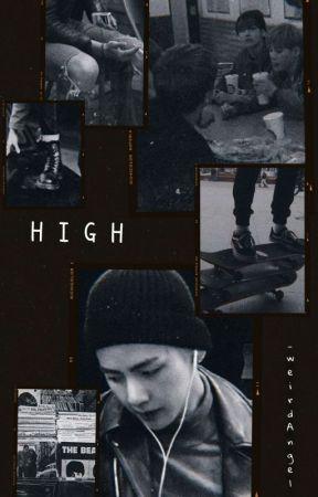 HIGH ; JinKookV [PAUSADA] by _weirdAngel_