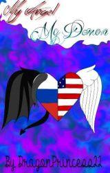 My Angel, My Demon.| RusAme| Angel and Demon AU by DragonPrincess22