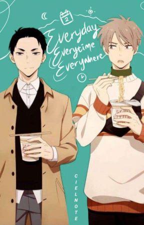 Everyday, Everytime, Everywhere   DaiHaru by CielNote