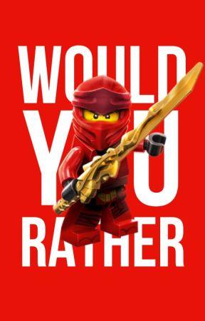 Ninjago Would You Rather by NinjagoFanficAwards