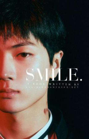 Smile ┃ PARK JONGSEONG  ✔︎ by Agirlwholovesen-nct