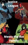 Justice League Meets the Bat Family cover