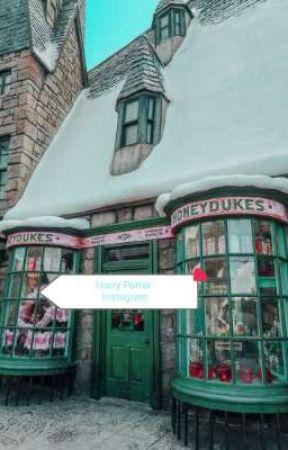 Harry Potter Insta AU by potterheadmeetsworld