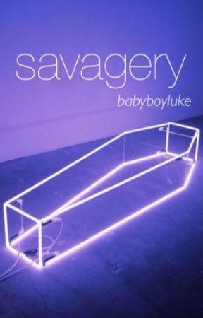 savagery - contest entry by babyboyIuke