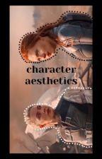 character aesthetics  by allielia_