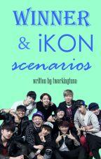 Winner & iKON Scenarios by twerkingtuna