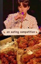 an eating competition (golden child joochan) by 99ness