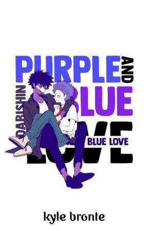 Purple and Blue Love   DabiShin by sxtturnshit