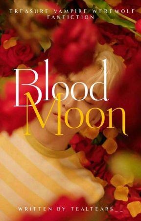 Blood Moon | Treasure | Vampire-Werewolf AU by tealtears_