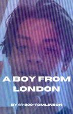 a boy from london || louis partridge x fem. oc by heyitsmaddieblair
