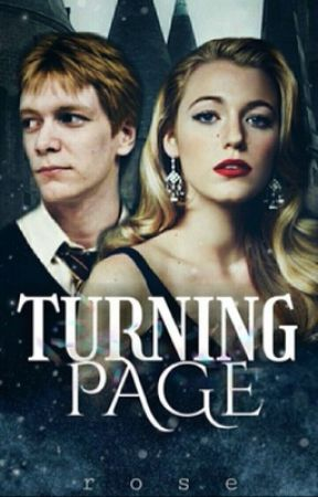 Turning page, Fred Weasley  by -MissHolland
