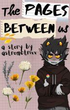 The Pages Between Us (Karkat Vantas x Reader) by astrometrixx