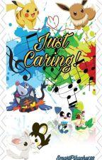 Just Caring (eevee x pikachu) by SmartPikachu123