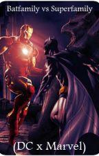 Batfamily vs Superfamily (DC x Marvel) by st3tl33