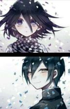 °×{The way you look at me}×° shuichi x kokichi (saiouma) by _creasent__leaf