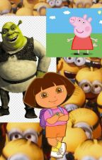 [The ogrery orgys] (smut) Shrek x Dora x Peppa Pig x All the minions x reader by fuckpickles666