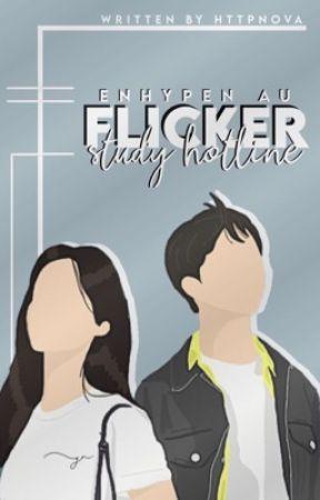 flicker → study hotline // enhypen by HTTPNOVA