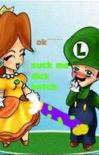 big dick lugigi x Femboy!fem!reader  by J-JOSHUAS