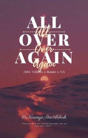 All Over Again - JJBA Reader Insert by Norange_inAFork