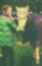 Georgia's book of prologues by noodlepony111