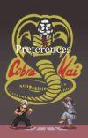 Cobra Kai Preferences/Imagines cover