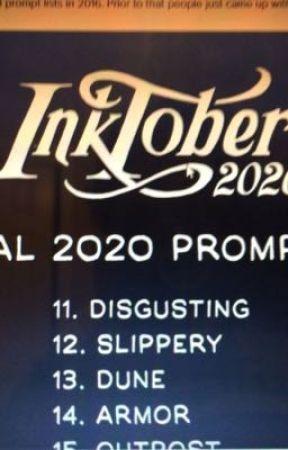 Inktober 2020 by GryffinSlytherPuff