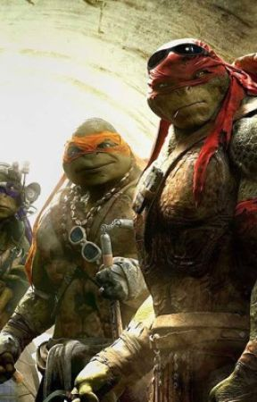 TMNT when worlds collide. by femalebumblebee