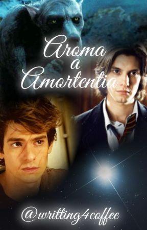 Aroma a Amortentia | Wolfstar by writing4coffee