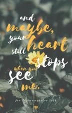 and maybe, your heart still stops when you see me by -thewaterymellen-