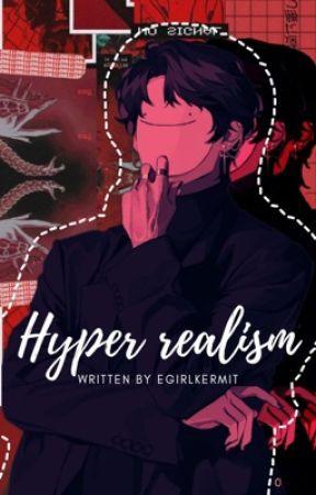 hyper realism - dwt x fem!oc by egirlKermit