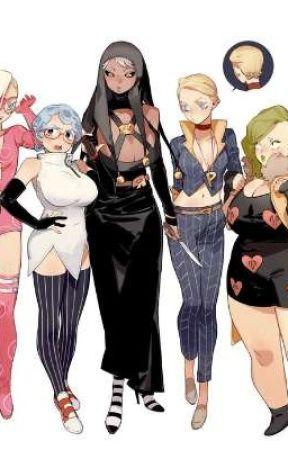 Female La squadria x male oc  by 6WingedPrincess