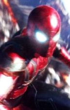 Iron Spider(Male OC) x Ghost Spider  by ThatEhhGuy