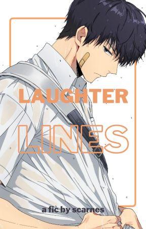 Laughter Lines | Tobio Kageyama x Fem!Reader by scarnesthesimp