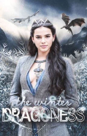 The Winter Dragoness   HP & GOT  by beegregsx