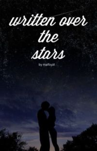 written over the stars ( Draco Malfoy )  cover