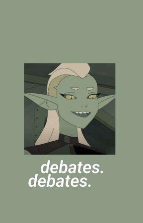debates. by aburridisima