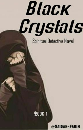 Black Crystals by Saidah-Fahim