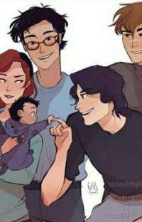 Marotos lendo Harry Potter  cover