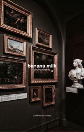 banana milk//zhong chenle by -existea